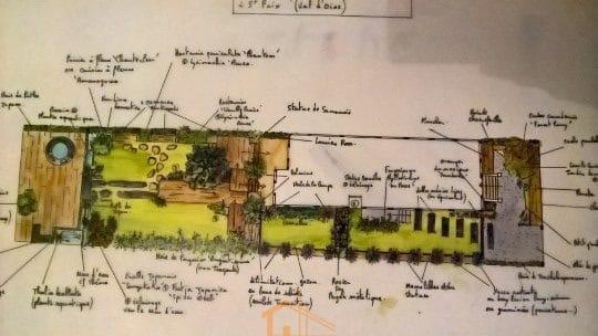 whome - courtier en travaux - jardin paysager val d'oise