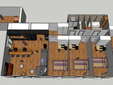 Avant / après : appartement de 130m² à Chatou