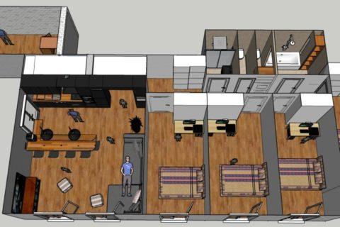 Restructuration d'appartement