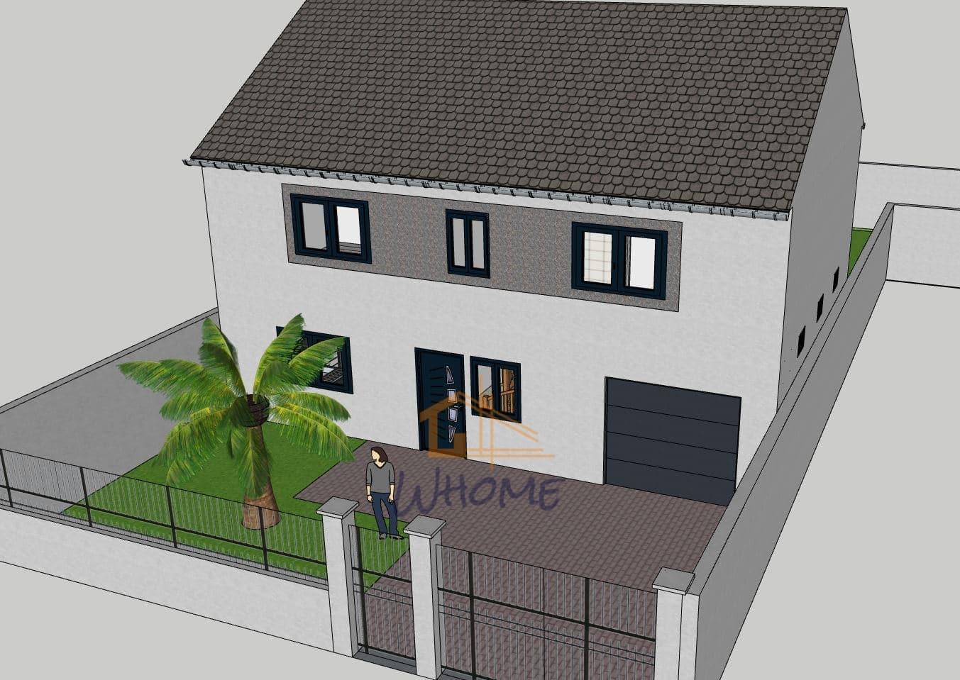 Whome, courtier en travaux - habitation 150m² - Yvelines