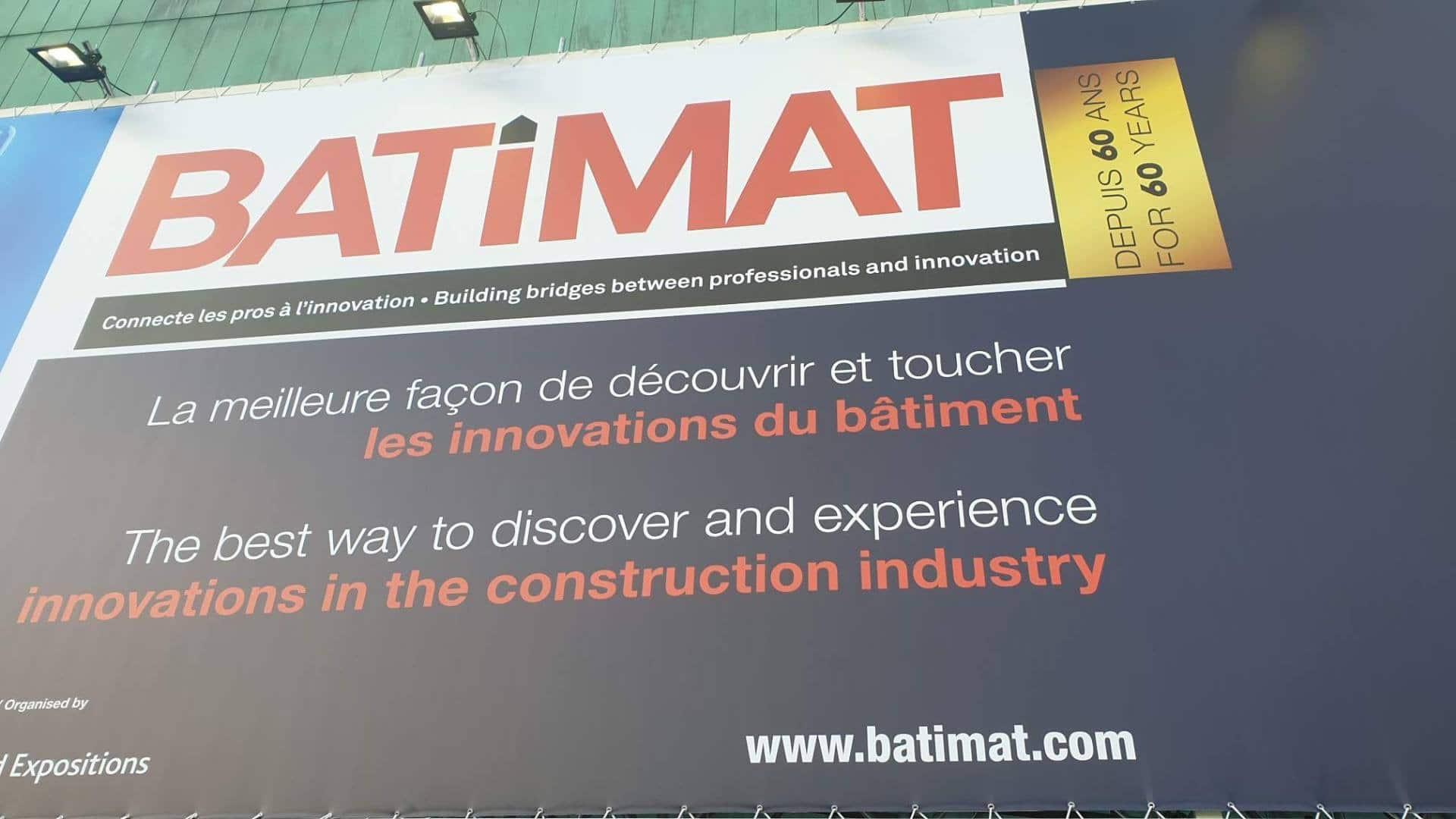 Whome, courtier en travaux - notre visite sur Batimat 2019