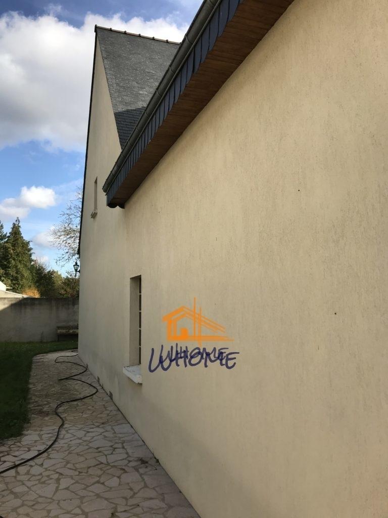 Whome - courtier en travaux - pignon maison avant peinture crépi - val d'oise - 95
