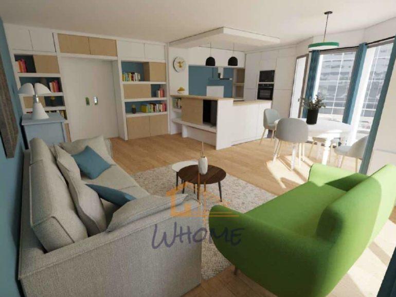Collaboration avec une décoratrice d'intérieur : rénovation d'un espace de vie