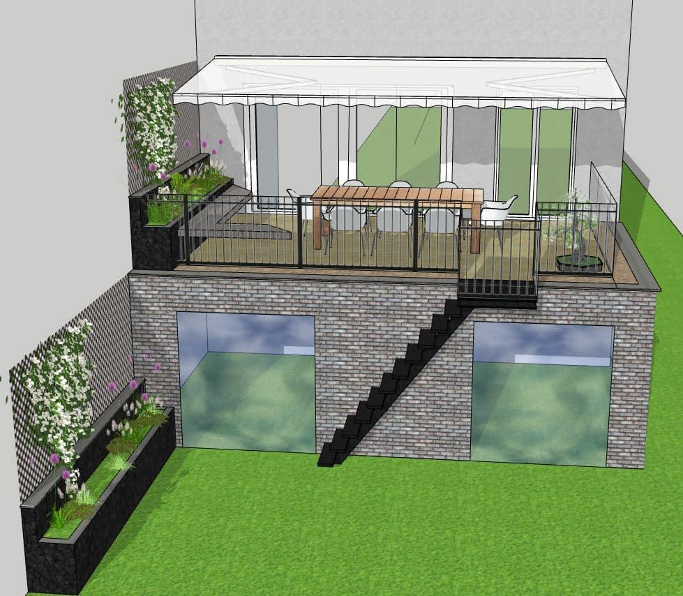 Extension d'une maison à Achères