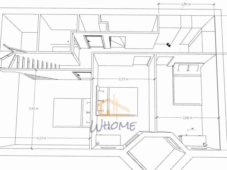 Harmonisation des espaces d'une maison atypique des Yvelines