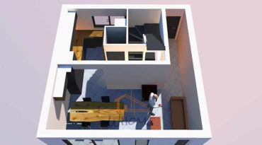 Une maison de ville transformée à Rueil