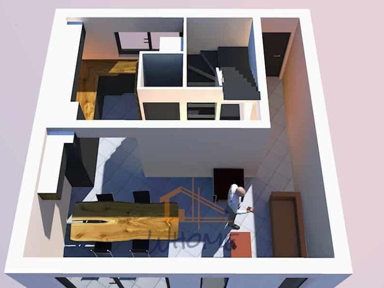 Rénovation d'une maison de ville à Rueil Malmaison