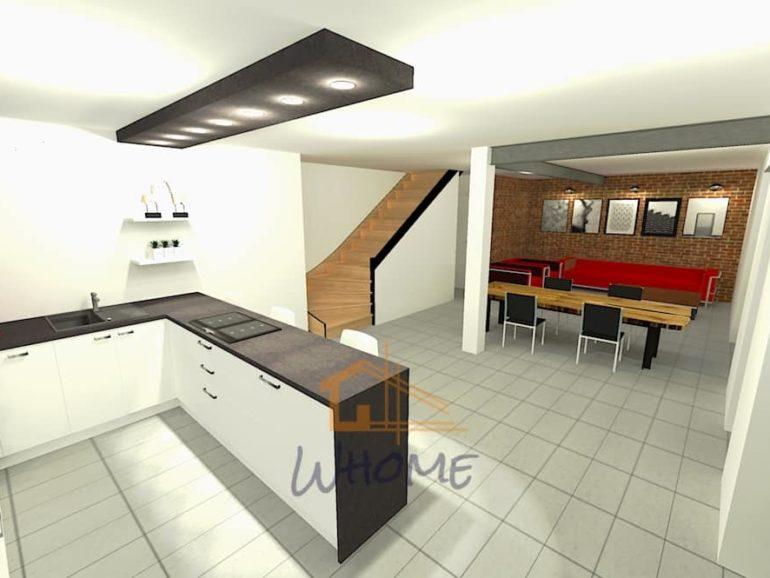 Rénovation d'une maison à Houilles