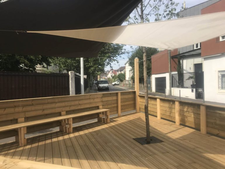Création d'une terrasse bois à Houilles