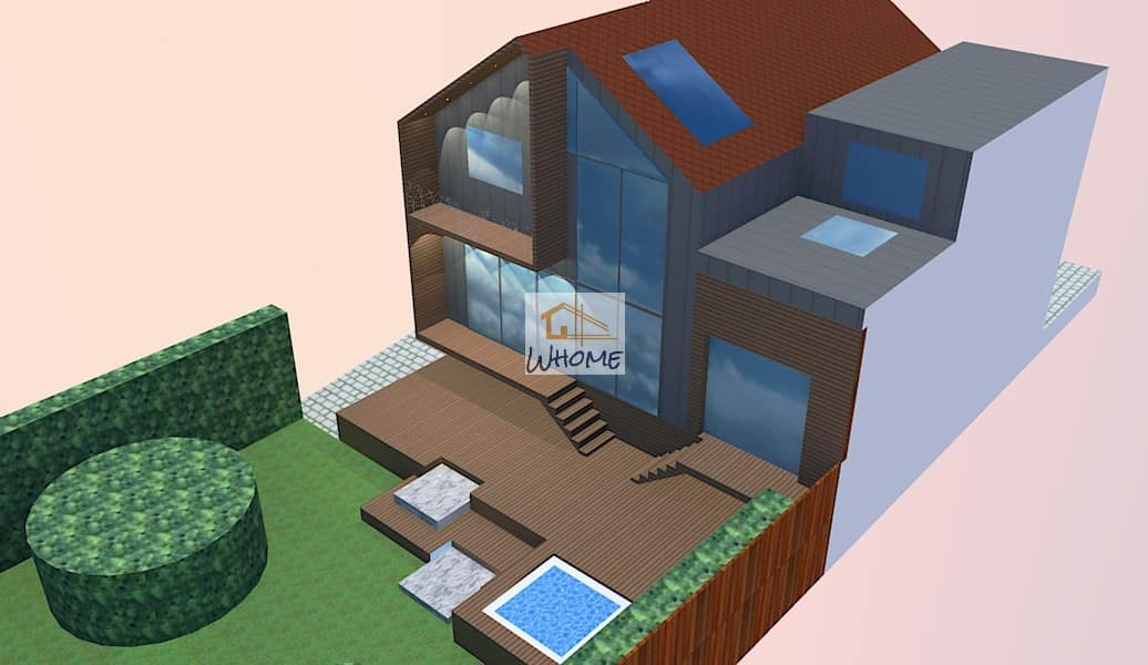 Extension vitrée & Terrasse