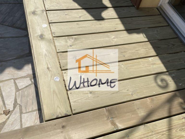 Une terrasse bois qui optimise l'espace maison
