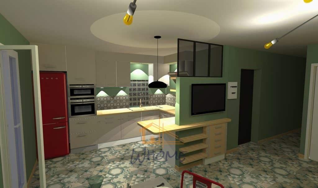 whome-visuel-3d-cuisine-appartement-carrieres-sur-seine